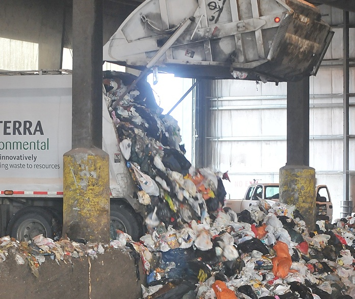 Food and other organic waste makes up 38 per cent of what's dumped in the garbage by Metro Vancouver households.