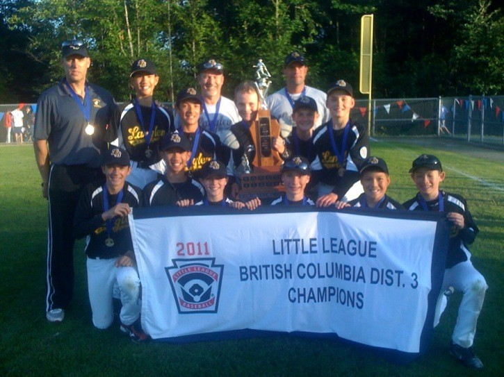 The Langley Baseball 11/12-year-old Major All-Stars are off to the provincial championships after winning the district 3 title.