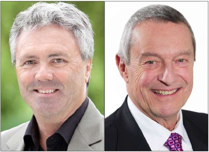 With an absentee ballot count underway, Delta-North MLA Scott Hamilton has kept his seat, while Surrey-Fleetwood MLA-elect Peter Fassbender is still waiting for results.