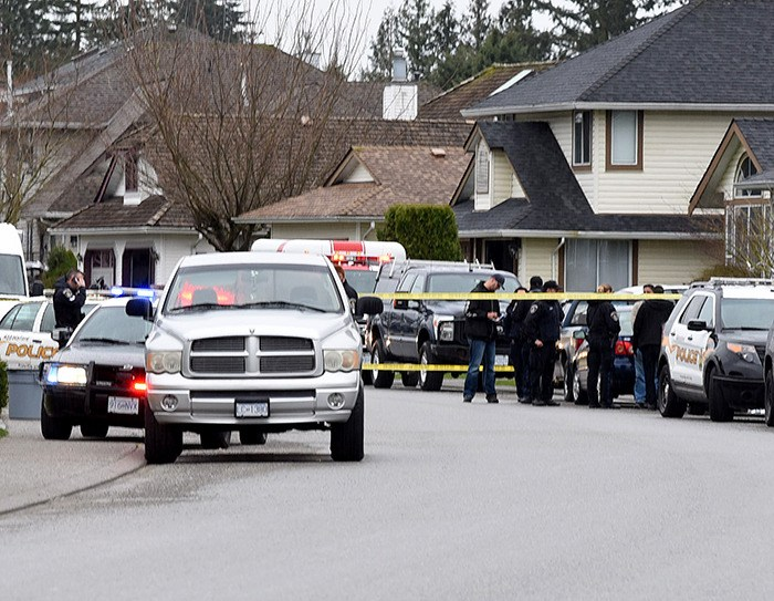 Abbotsford Police were on the scene of a fatal shooting on Chase Street on Friday afternoon.