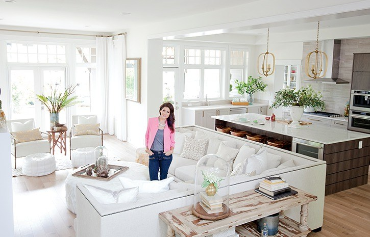Jillian Harris has returned to design the PNE Prize Home for the third year in a row.