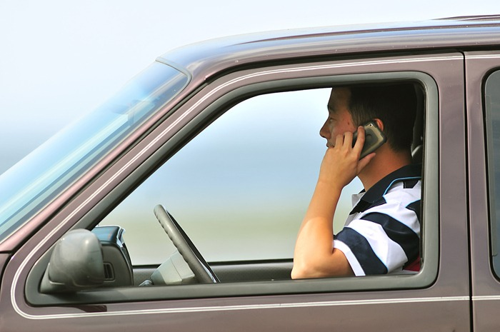 Talking on a cellphone makes a driver four times as likely to be in a crash, and 23 times more likely if they're texting, according to U.S. studies cited by ICBC.