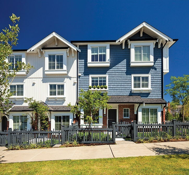Ashbury Hill in Surrey's Panorama neighbourhood features two- and three-bedroom townhomes.