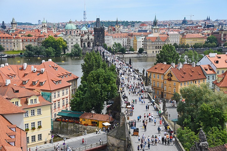 Langley Times reporter Miranda Gathercole recently returned from a trip to Prague (in picture) and Ireland.