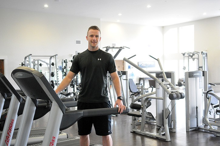After years of competing, Jarid Vaughan is stepping away from competitive track and will instead focus on his new business as a personal trainer with Vaughan's Fitness & Conditioning. He runs the business out of The Gym at High Point.