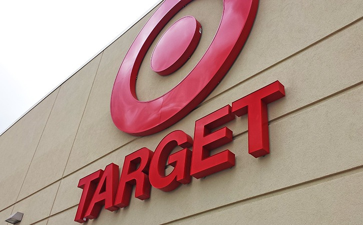 The outside of a Target store next to Willowbrook Mall in Langley, B.C., one of the retailer's 19 B.C. locations that will shut down in 2015.