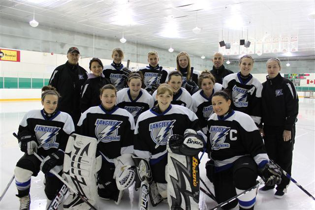 The Langley Lightning overcame an average regular season to earn a spot at the provincial championships.