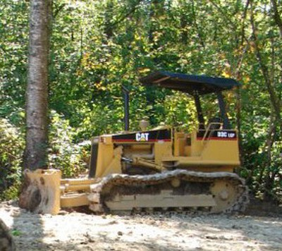 Langley RCMP and the owners of a 1989 Caterpillar bulldozer stolen from an Aldergrove property sometime before Jan. 15 are asking for the public's help in finding the person or persons who stole the valuable piece of equipment.
