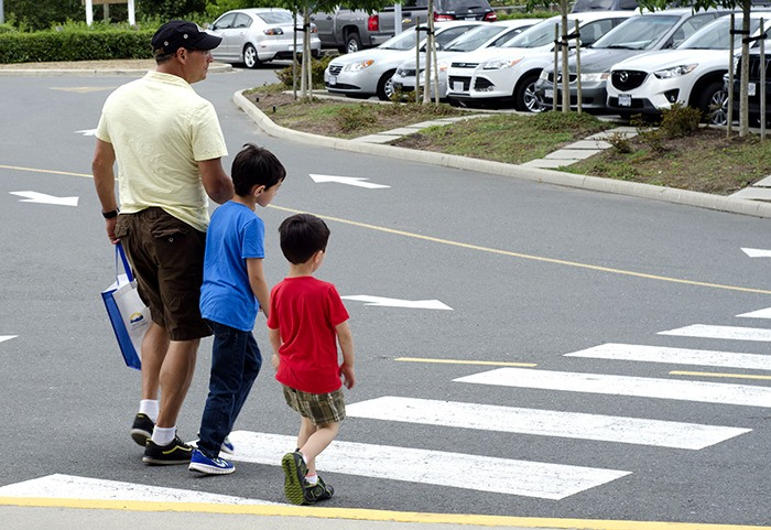 Langley's roads will be much busier next week, as classes resume. Motorists are reminded to slow down and keep an eye out for students crossing streets on their way to and from school. Students are being urged to take extra care when crossing the road.
