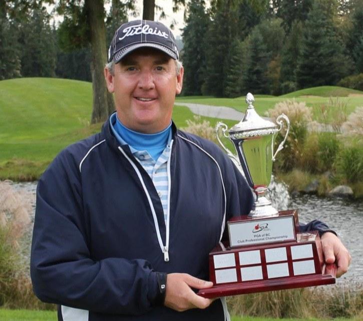 Redwoods Golf Course's Doug Morgan captured the 2014 Cleveland Golf/Srixon Canada PGA of BC Club Professional championship.
