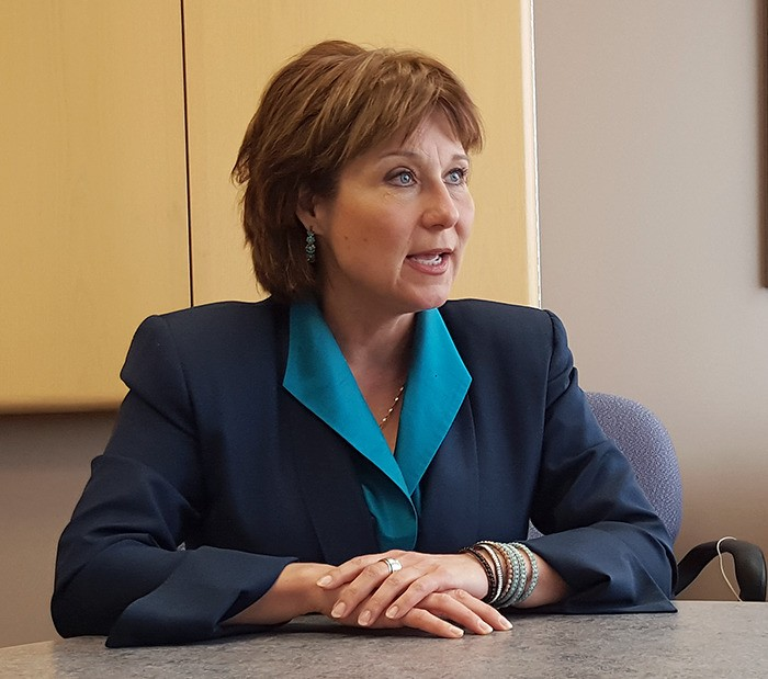 Premier Christy Clark approved Woodfibre LNG as the province's first LNG export facility on Nov. 4