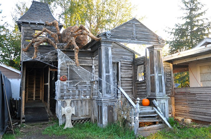 The Brinkworth Dungeon in Murrayville is one of many Halloween displays and events happening in Langley this season.