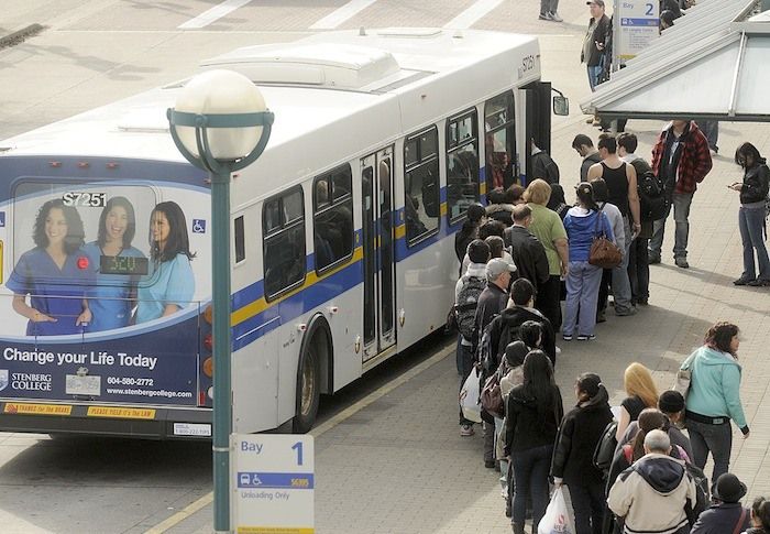 A first phase of transit expansion would include improved bus service in Metro Vancouver, if extra funding can be obtained in the region to secure generous grants from the federal government.