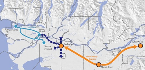 Abbotsford council approved a previously rejected plan for a bus between Chilliwack and Langley via Abbotsford.
