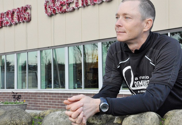 David McGuire, a recovered brain injury patient, has spent the last eight  months running across Canada to raise awareness and education for brain injuries.