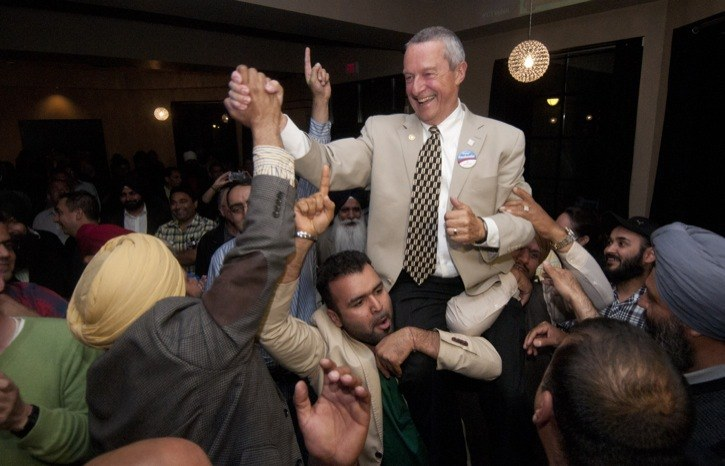 Langley City Mayor Peter Fassbender is the new MLA for Surrey-Fleetwood. He won the seat over incumbent Jagrup Brar by 265 votes.