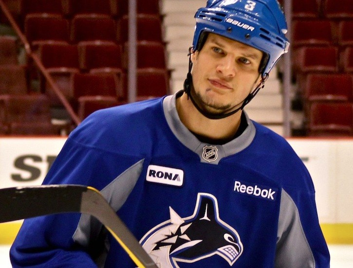 Kevin Bieksa and the Vancouver Canucks will need to establish earlier leads if they hope to have a winning season.