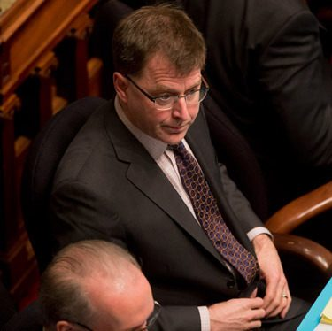 NDP leader Adrian Dix plans to stay in the opposition leader's seat for the spring session of the B.C. legislature.