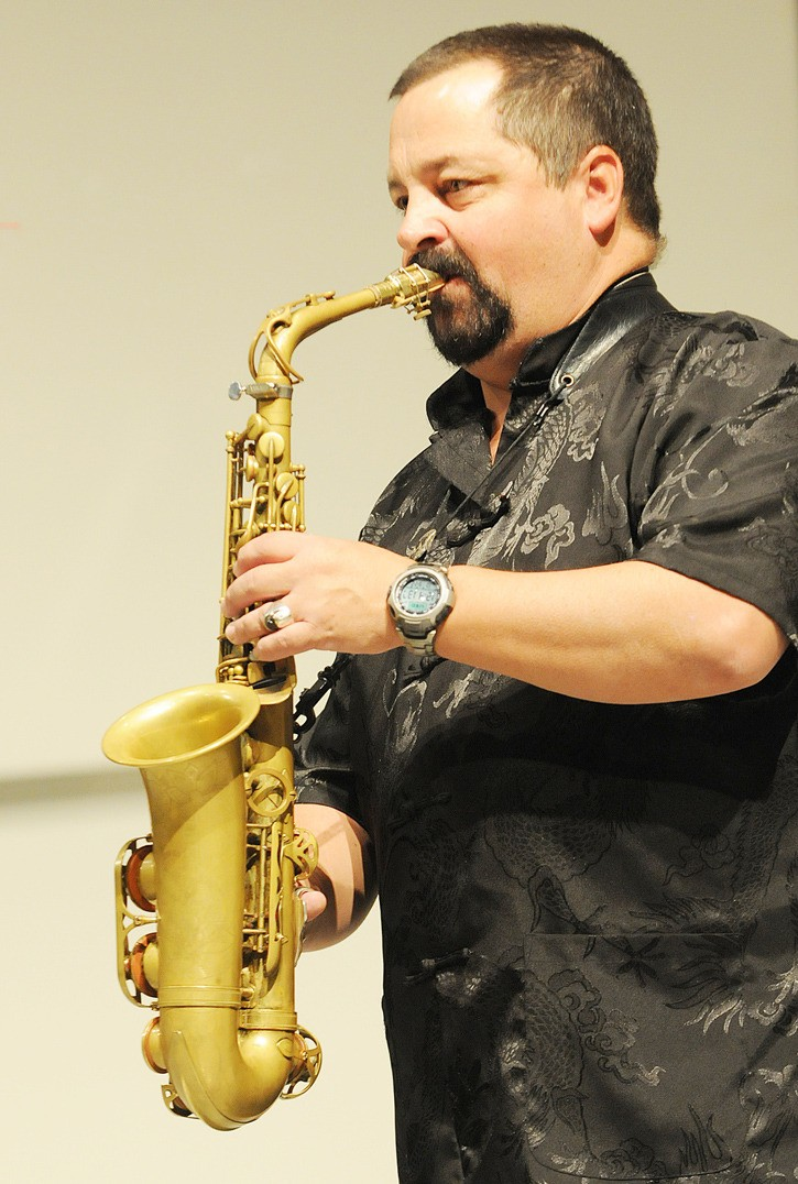 Jazz saxophonist Campbell Ryga is one of three performers who will give a free concert at Kwantlen Polytechnic University on Wednesday, Nov. 9, as part of the school's  Music at Midweek series.