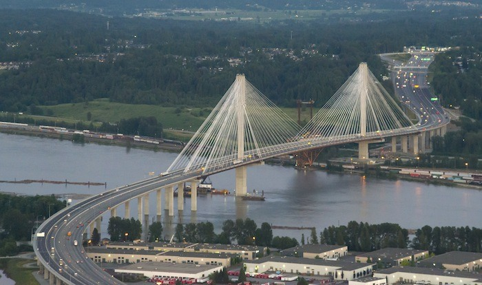 Traffic over the Port Mann Bridge was up 5 per cent in 2015 and it's up even more this summer with the Pattullo Bridge lane closures in effect.