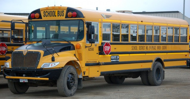 School buses are idle around B.C., except to get high school students to provincial exams.