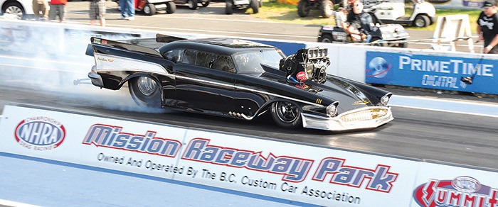 Jay Syversten and his '57 Chevy have the potential to win this weekend's event.