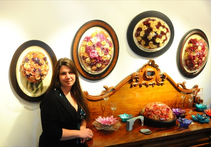 Rhonda Bastien runs Empty Garden Floral Preservation & Keepsakes in Fort Langley, turning flowers from a cherished moment and turning it into an art piece that will last a lifetime.