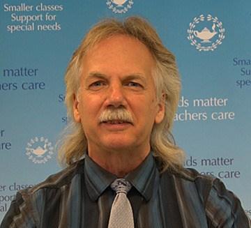 B.C. Teachers' Federation president Jim Iker