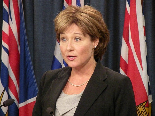 Premier Christy Clark comments on outcome of the harmonized sales tax referendum Aug. 26.