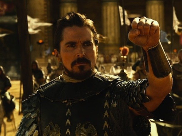 Christian Bale stars as Moses in Ridley Scott's Biblical epic 'Exodus: Gods and Kings'.