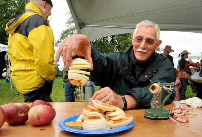 Langley community events such as Heritage Apple Day at Derby Reach Regional Park relies on volunteers.