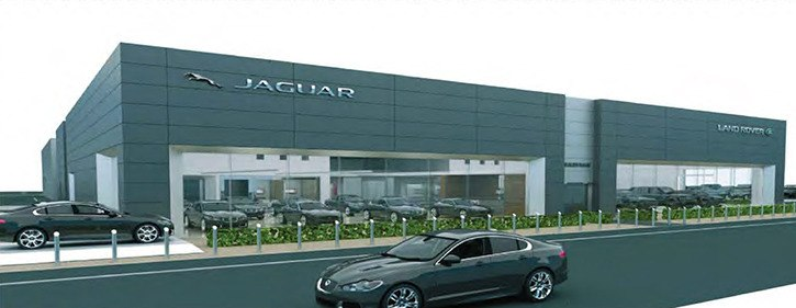 Jaguar/Land Rover is moving to Collection Street, adding its supply of luxury vehicles.