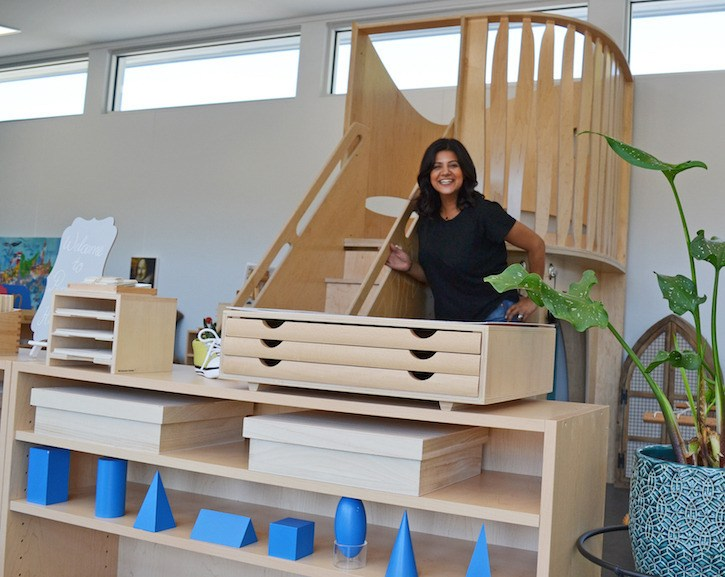 Head Directress Nadin Elkhalil, founder of the Peregrine School in Langley is offering a free Parent Talk: To Educate and Inspire on Thursday, Nov. 10 from 6:30 p.m. to 7:30 p.m.