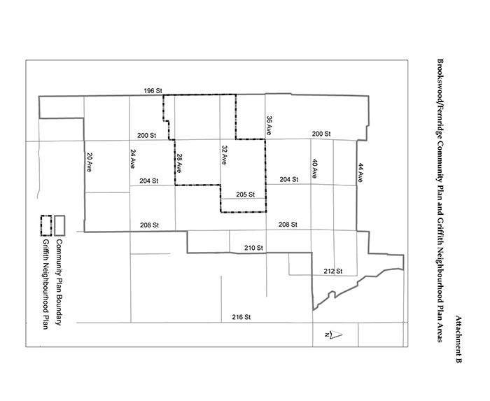 Griffith Area Neighbourhood plan