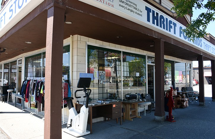 Thrift for Kids Thrift Shop is one of 18 second-hand stores in the municipality.