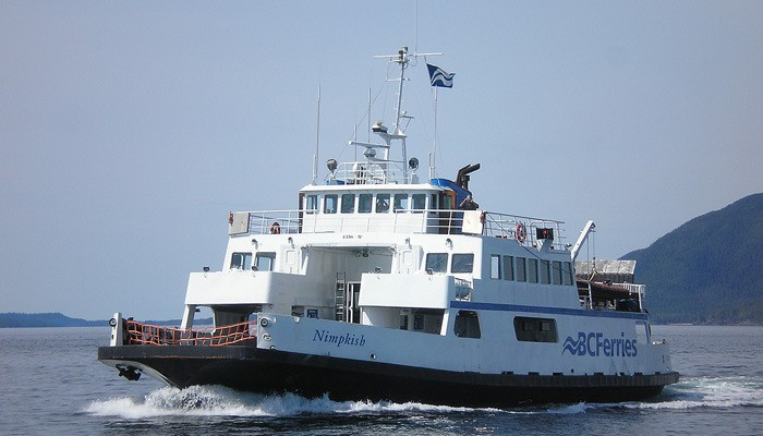 MV Nimpkish has replaced a larger vessel for part of the Discovery Coast circle tour run.