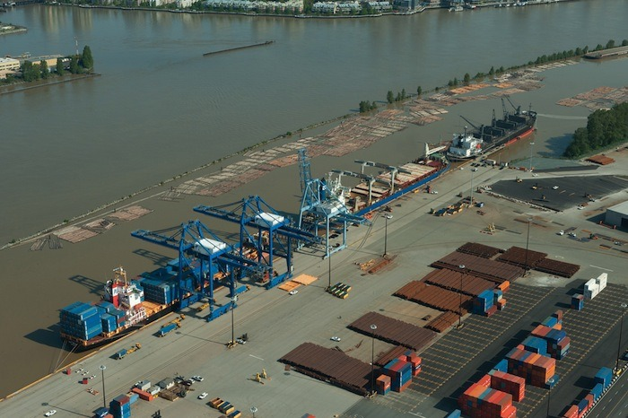 Fraser Surrey Docks operation on the Fraser River in Surrey could be exempt from regional air pollution regulations if it wins a court challenge of a ticket from Metro Vancouver.