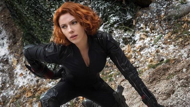 Scarlett Johansson stars as the Black Widow in The Avengers' sequel, Age of Ultron, alongside Marvel's super-est super hero team.