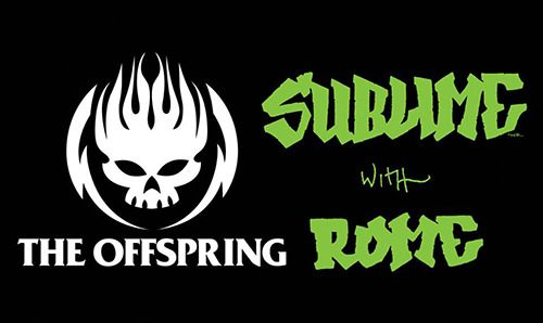 The Offspring and Sublime with Rome are coming to Abbotsford this summer.