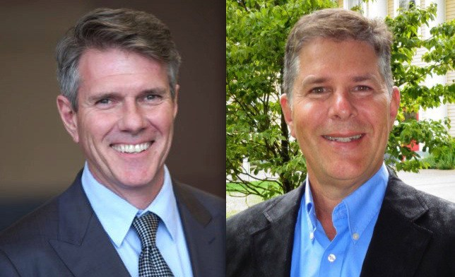 Langley's two MPs, Liberal John Aldag (left) and Conservative Mark Warawa disagree on the right way forward for electoral reform.