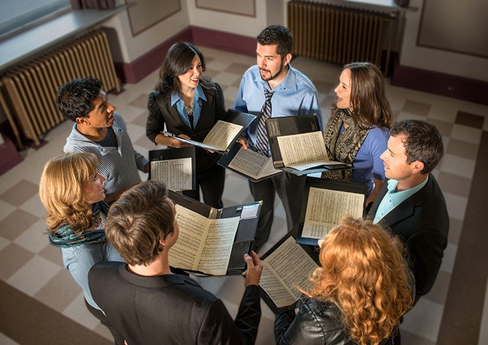 Vocal ensemble musica intima will perform a repertoire ranging from early to contemporary music when they take the stage at Rose Gellert Hall on Saturday, May 3.