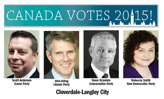 Candidates hope to make history in Cloverdale-Langley City this October