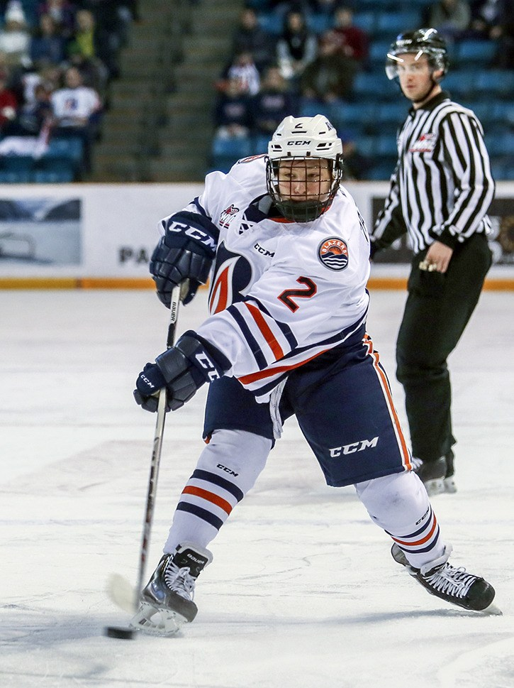 Langley's Luke Zazula played three games with the Western Hockey League's Kamloops Blazers last season. Now eligible to play in the league full-time as a 16-year-old, Zazula is hoping to crack the Blazers roster next month. Zazula also returned from a Hockey Canada developmental camp earlier this month.