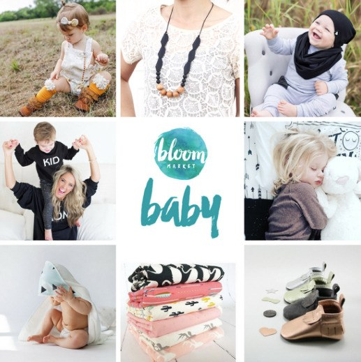 The Bloom Baby Market returns to the Fort Langley Community Hall March 31 and April 1.