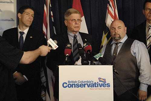 The B.C. Conservatives will not support a proposed garbage incinerator in the Fraser Valley, announced party leader John Cummins in Abbotsford on Monday.