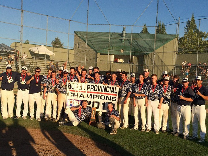 The Langley Blaze captured the 2014 B.C. Premier Baseball League provincial championship back in August. Last week, the league declared the Blaze the team of the year.