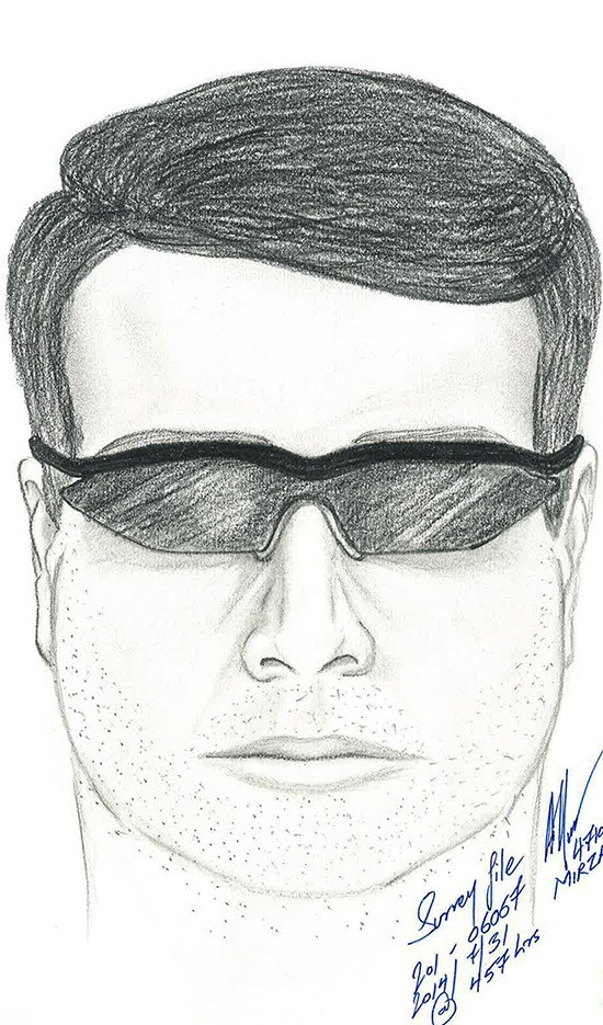 Surrey RCMP have released this composite sketch of a suspect wanted in connection with an assault of a teenager behind Clayton Heights Secondary.