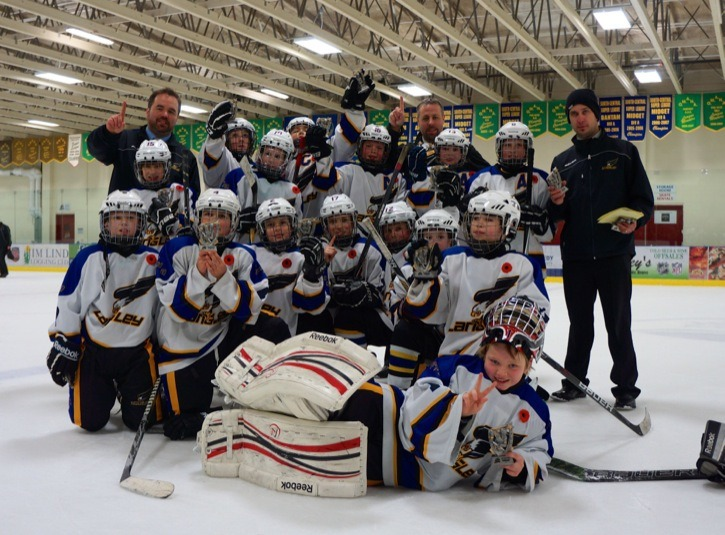 The Langley atom A3 Eagles brought home the gold medal from a tournament in West Kelowna earlier this month.
