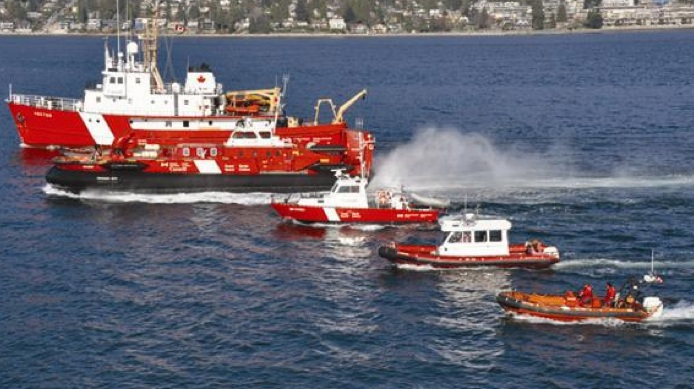 Coast Guard vessels have been based out of Richmond after the Kitsilano Coast Guard base was closed in 2013.