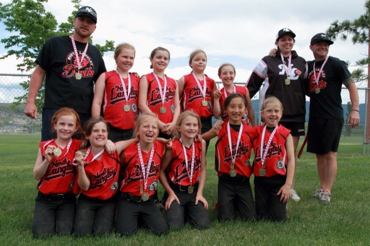 The U10 North Langley Devils took top spot in the Vernon Summer Classic, despite being two years younger than their competition.